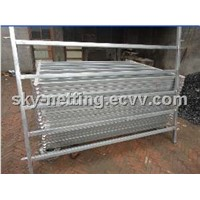 1.8x2.1m Metal Livestock Wire Mesh Fence Panel