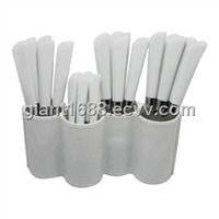 2013 New Plastic Handle Cutlery PP Handle Set