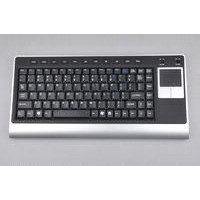 2.4G Wireless Keyboard with Touchpad K8C,Ultra-slim,Integrated touchpad and two stylish buttons