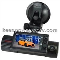 2.7 Inch TFT Display Dual Camera Car DVR G-sensor Vehicle Blackbox CD7033