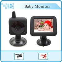 3.5 inch Wireless Car Baby Cam Monitor,2.4GHz Wireless Digital Baby Monitor for Car
