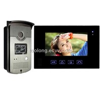 "7"" Touch Screen Video Door Phone with ID Card Access"
