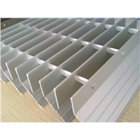 Aluminum sunscreen louver