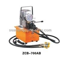 Double acting electric hydraulic pump ZCB-700AB
