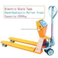 Electric Scale Hand-Hydraulic Pallet Truck