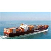 Forwarding company booking container in Mainland of China