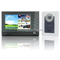 GSM Video Door Phone New 7inch Support SD Card Intercom System for Home