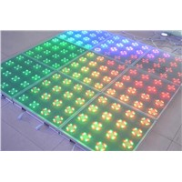 Hot 50*50cm12mm Tempered Glass Interactive LED Dance Floor
