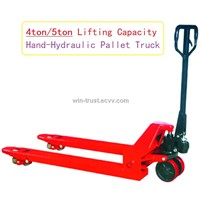 Heavy Duty Pallet Truck 4Ton/5Ton lifting Capacity