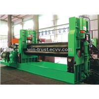 Hydraulic Three-Roller Symmetrical Rolling Machine