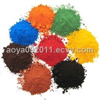 Iron Oxide (red, yellow, blue, brown, black, green)