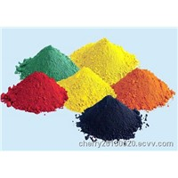 Iron Oxide (red, yellow, blue, green, black, orange)