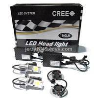 LED Head Light Kit H4-50W for Cars! New Generation!NO HID anymore!!!