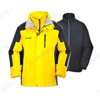Men's Outdoor 2 in 1 Jacket Ski Wear  Hiking Climbing Clothing Winter Snow Coat