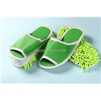 Microfiber Floor Cleaning Slipper With Mop