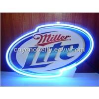 New Miller Lite neon sign/Neon open sign
