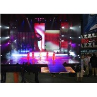 P7.62 SMD Indoor Full Color RGB LED Displays , Opto + Silan Chipset High Brightness
