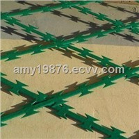 PVC Razor Barbed Wire, BTO-22