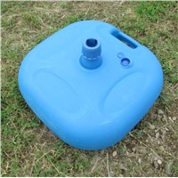 Plastic water-filled umbrella base