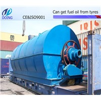 Professional manufacture waste management  machine turn the waste tyre plastic to oil
