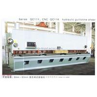 QC11Y&CNC QC11K Hydraulic Guillotine Shear