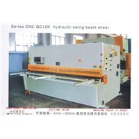 QC12K Hydraulic Swing Beam Shearing Machine