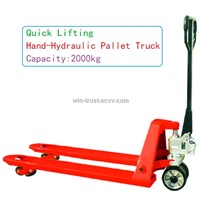 Quick Lifting Hand-Hydraulic Pallet Truck