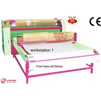 Roller Auto-Sublimation Printer- Print Flat Substrates (Video)- Large Format- Heat Press Machine- QA