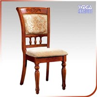 Rubber Wood HOTEL USE Cushion Chair E08