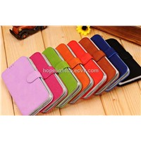 Samsung Galaxy S4 / i9500 Cover with Cow Leather Material,Good Handfeel