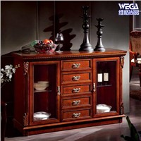 Sideboard With Glass Doors 6003F