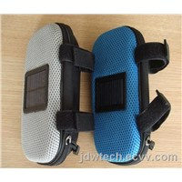 Solar bicycle bags speaker for fashion and convenience  and solar charger bag