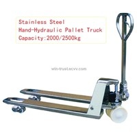 Stainless Steel Hand-Hydraulic Pallet Truck