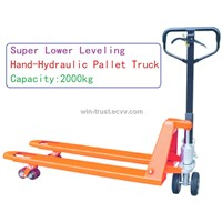 Super Lower Hand-hydraulic Pallet Truck