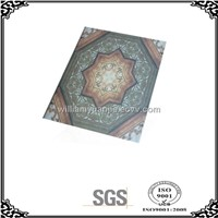 Tiles on ceiling and Pvc for ceiling ( SGS) 595MM ,NEW patterns(ROMAN)