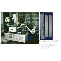 Tongue depressor packing machine, tongue spatula wrapping machine