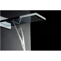 Two features stainless steel waterfall shower head 304