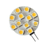 Wholesale 12pcs led 5050smd high quality high Lumen G4 LED 12V DC 2.4W 180degree g4 led light