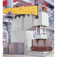 Y41 Series Single Column Hydraulic Straighteningand Mounting Press