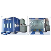 Baochi car paint spray booth (BC-718, oil burner type)