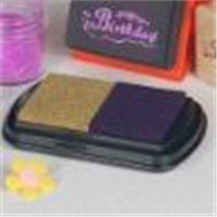 colorful stamp ink pad