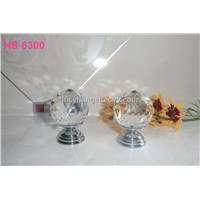 crystal cut faces knobs