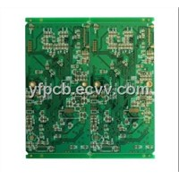 DVD Player PCB Board with 2 OZ Copper Thickness