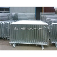 1.1x2.2m hot dipped galvanized removable crowd control fence for sale