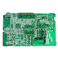 Green Soldermask GPS Tracking PCB