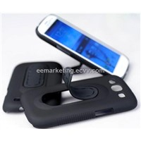 Mobile Phone Stand Case TPU Steel Bracket Case Stand Car Mobile Phone Holder for 9300,7100,9200