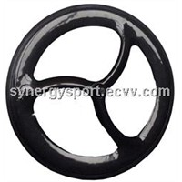 Synergy Unique Performance Pupular Track Carbon 3-Spoke Wheel