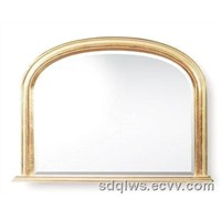 wood wall mirror,mantel mirror