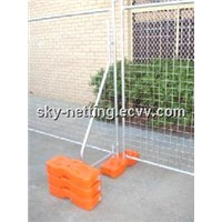 Temporary Fence Designed Flat Feet Stable and Much Safer