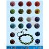 Shamballa fashion  Crystal ball Beads